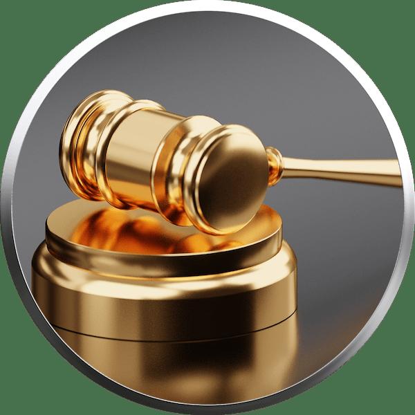 Finanzielle Haftung - Negative Gerichtsurteile mit Hammerschlag vermeiden