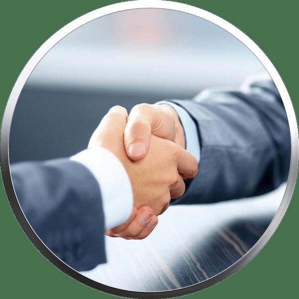 Transparente BAV-Beratung - Hohe Renditechance und Sicherheit - Hand drauf