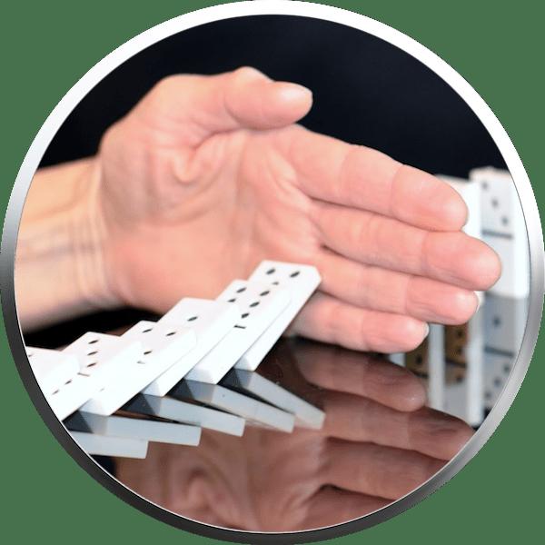 Risiko der betrieblichen Altersvorsorge - Domino-Effekt